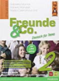 Freunde & Co. Kursbuch-Arbeitsbuch-Activebook-Schulbatt. Con CD Audio. Per la Scuola media: 2