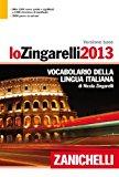 Lo Zingarelli 2013. Versione base. Vocabolario della lingua italiana