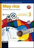 Muy rico. Libro del alumno-Cuaderno de ejercicios. Con espansione online. Con CD Audio. Per la Scuola media: 3