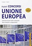 Nuovi concorsi Unione Europea. Eserciziario